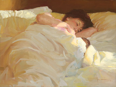Morning Adoration- Signed By The Artist – CanvasGiclee – Limited Edition – 75S/N – 9x12