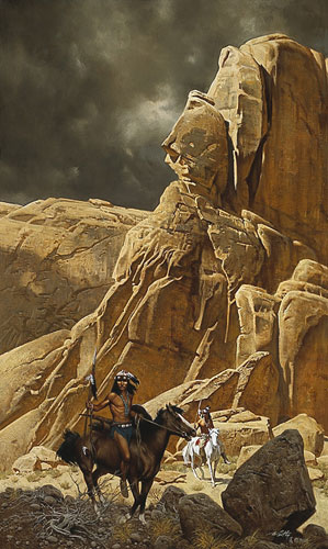 Canyon Lands- Signed By The Artist – PaperLithograph – Limited Edition – 1250S/N – 30x18