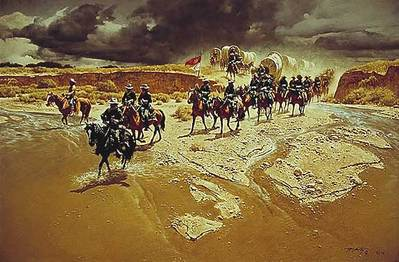 Distant Thunder- Signed By The Artist – PaperLithograph – Limited Edition – 1500S/N – 18 1/2x27