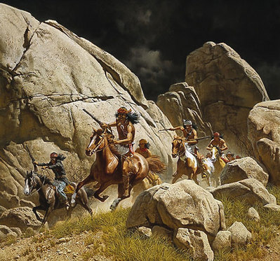 Los Diablos- Signed By The Artist – PaperLithograph – Limited Edition – 1250S/N – 23 1/4x25