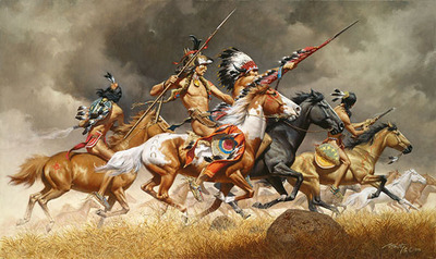 Thunder Across The Plains- CanvasGiclee – Limited Edition – 75Numbered – 18x30