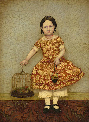 Birdcage- Signed By The Artist – CanvasGiclee  – Limited Edition  – 75S/N  –  12x9  –