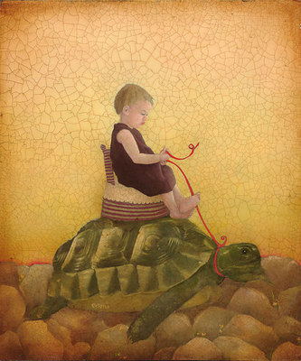 Tortoise- Signed By The Artist – CanvasGiclee  – Limited Edition  – 75S/N  –  12x10