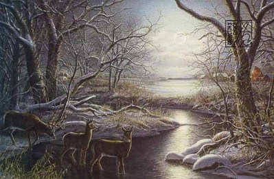 Silent Night- Signed By The Artist – PaperLithograph  – Limited Edition  – 1500S/N  –  16x24