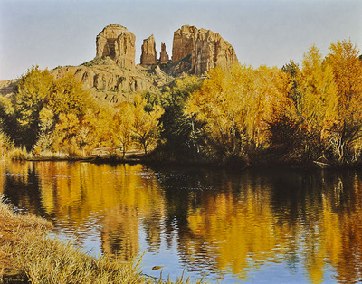 Autumn Glory- Signed By The Artist – CanvasGiclee – Limited Edition – 75S/N – 11x14