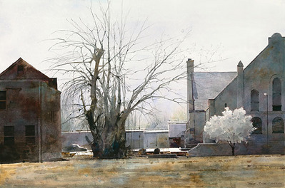 Early Spring In St. Louis- Signed By The Artist								 – Paper Giclee – Limited Edition – 75 S/N – 18 1/2 x 28