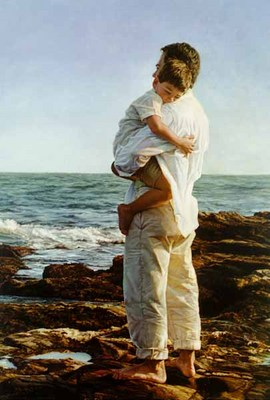 Always There- Signed By The Artist – CanvasGiclee  – Limited Edition  – 100S/N  –  28x18  –