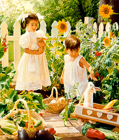 Growing Season- Signed By The Artist – PaperLithograph  – Limited Edition  – 55A/P  –  18x15 1/4