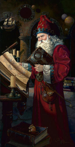 Solarus The Wizard- Signed By The Artist								 – Paper Lithograph – Limited Edition – 450 S/N – 28 x 14