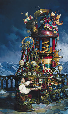 The Weathermill- Signed By The Artist – CanvasGiclee – Limited Edition – A/P – 35x21