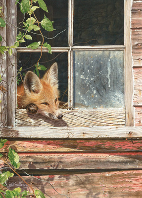 Room With A View- Signed By The Artist – PaperLithograph  – Limited Edition  – 950S/N  –  16x11 1/2