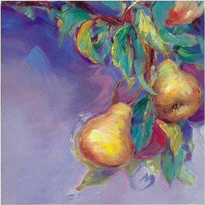 Pears- Signed By The Artist – CanvasGiclee  – Limited Edition  – 95S/N  –  20x20