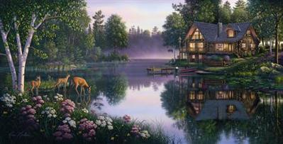 Sweet Serenity- Signed By The Artist – CanvasGiclee  – Limited Edition  – 350S/N  –  20x40