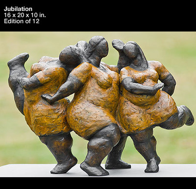 Jubilation- Signed By The Artist – SculptureBronze – 3-Dimensional – 12Limited – 10″ High