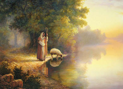 Beside Still Waters- Signed By The Artist – CanvasGiclee  – Limited Edition  – 99S/N  –  32x40