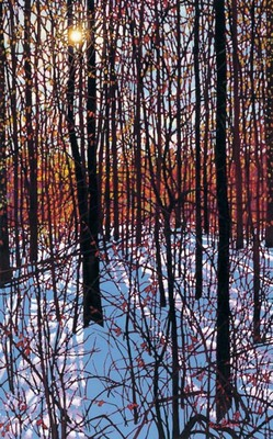 Sunlit Afternoon- Signed By The Artist – CanvasGiclee  – Limited Edition  – 100S/N  –  40x25