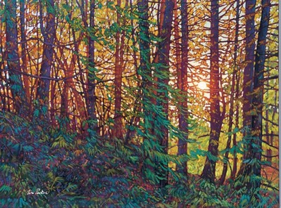 Tangled Forest- Signed By The Artist – CanvasGiclee  – Limited Edition  – 50S/N  –  36x48