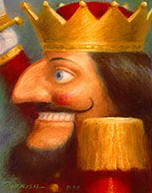 Nutcracker- Signed By The Artist – PaperLithograph  – Limited Edition  – 950S/N  –  6 5/8x5