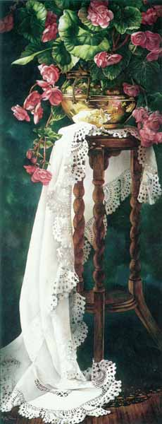 Lace Interlude- Signed By The Artist – PaperLithograph – Limited Edition – 950S/N – 31 3/4x12 3/8