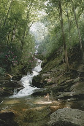 Altar Of The Forest- Signed By The Artist – CanvasGiclee – Limited Edition – 195S/N – 36x24