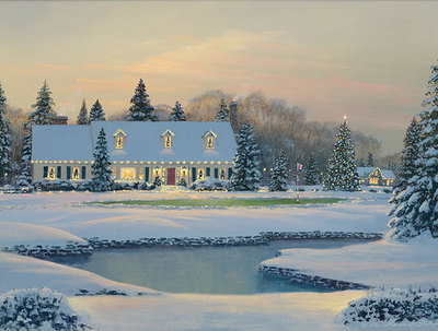 Christmas On The Eighth- Signed By The Artist								 – Canvas Giclee – Limited Edition – 300 S/N – 9 x 12