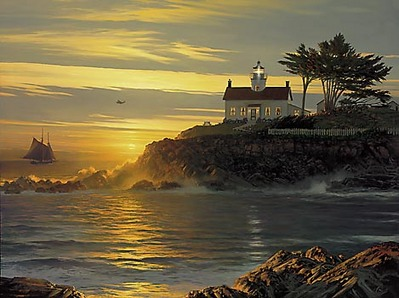 Sunset Sentinel- Signed By The Artist – CanvasGiclee – Limited Edition – 550S/N – 24 1/2x32 1/4 –