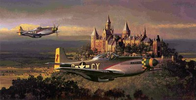 Victory Pass (P-51)- Signed By The Artist – PaperLithograph  – Limited Edition  – 550S/N  –  13x26  –