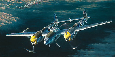 Top Cover For The Straggler (P-38)- Signed By The Artist – PaperLithograph  – Limited Edition  – 1000S/N  –  13 1/8x26 1/4  –