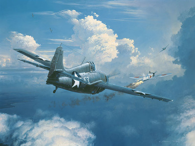 When You See Zeros, Fight 'Em (F-4)- Signed By The Artist – PaperLithograph  – Limited Edition  – A/P  –  17 1/2x23 1/2