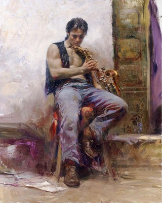 Music Lover – Signed By The Artist – Giclee On Canvas – Limited Edition