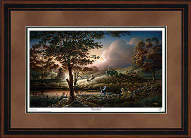 Always Alert – Framed- Signed By The Artist								 – Paper Lithograph – Limited Edition – 9500 S/N – 28 1/2 x 42