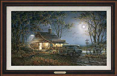 Autumn Traditions – Framed- Signed By The Artist – CanvasLithograph  – Limited Edition  – 1950S/N  –  28 1/2x42  –