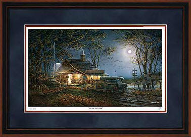 Autumn Traditions – Framed- Signed By The Artist – PaperLithograph  – Limited Edition  – 9500S/N  –  28 1/2x42