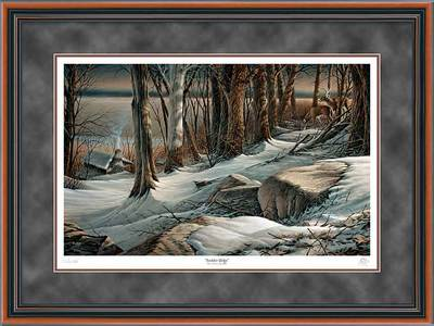 Boulder Ridge – Framed- Signed By The Artist – PaperLithograph – Limited Edition – 4800S/N – 25x34