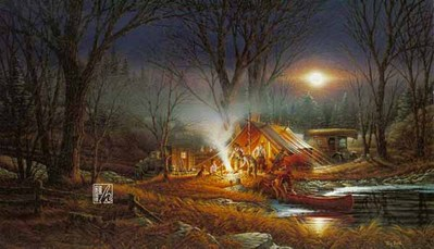 Campfire Tails- Signed By The Artist								 – Paper Lithograph – Limited Edition – 29500 S/N – 18 1/2 x 32