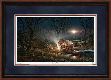 Campfire Tails – Framed- Signed By The Artist								 – Paper Lithograph – Limited Edition – 29500 S/N – 28 1/2 x 42