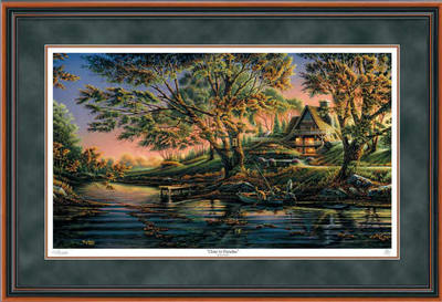 Close To Paradise – Framed- Signed By The Artist – PaperLithograph – Limited Edition – 9500S/N – 28 1/2x42