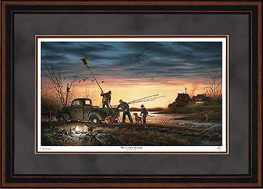 The Conservationists – Framed- Signed By The Artist – PaperLithograph – Limited Edition – 29500S/N – 24x34