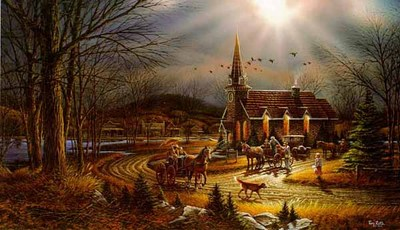 God Shed His Grace On Thee- Signed By The Artist – PaperLithograph – Limited Edition – 29500S/N – 16 1/2x28 3/8