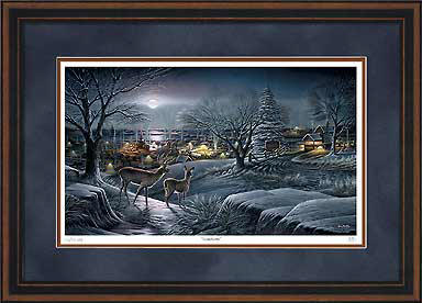 Hometown – Framed- Signed By The Artist								 – Paper Lithograph – Limited Edition – 3500 S/N – 28 1/2 x 42