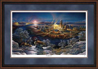 Moonlight Frost – Framed- Signed By The Artist – PaperLithograph – Limited Edition – 9500S/N – 28 1/2x42