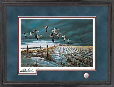 Winter Snows – Framed- Signed By The Artist – PaperLithograph – Limited Edition – 960S/N – 28 1/2x42