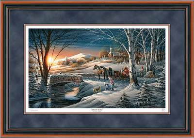 Almost Home – Framed- Signed By The Artist								 – Paper Lithograph – Limited Edition – 29500 S/N – 24 x 34