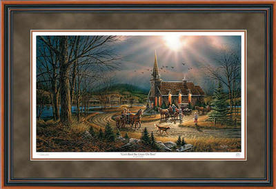 God Shed His Grace On Thee – Framed- Signed By The Artist – PaperLithograph – Limited Edition – 29500S/N – 26 1/2x38 3/8