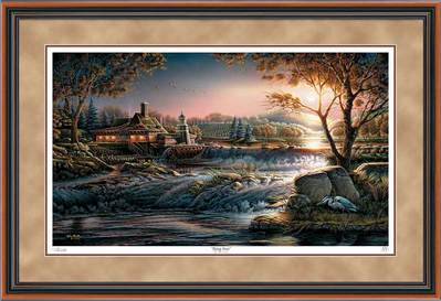 Guardian Of Conservation – Framed- Signed By The Artist								 – Paper Lithograph – Limited Edition – 2500 S/N – 28 1/2 x 42