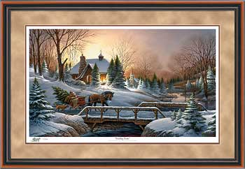Heading Home – Framed- Paper Lithograph – Limited Edition – 2006 Unsigned – 28 1/2 x 42