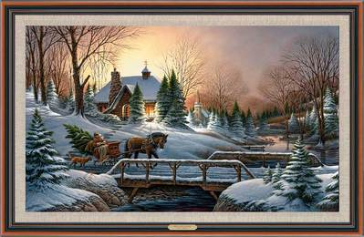 Heading Home – Framed- Signed By The Artist								 – Canvas Lithograph – Limited Edition – 500 S/N – 27 1/2 x 42 1/2