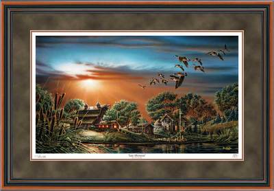 Lazy Afternoon – Framed- Signed By The Artist – PaperLithograph – Limited Edition – 9500S/N – 26 1/2x38 1/2