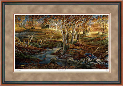Nature's Sentinel – Framed- Signed By The Artist – PaperLithograph – Limited Edition – 9500S/N – 28 1/2x42
