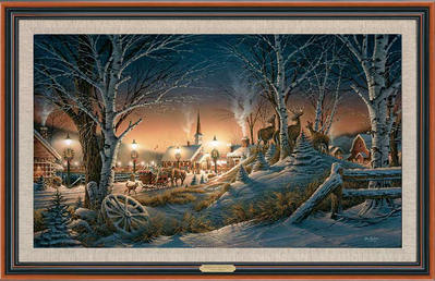 Night On The Town – Framed- Signed By The Artist								 – Canvas Lithograph – Limited Edition – 1950 S/N – 26 1/2 x 38 1/2